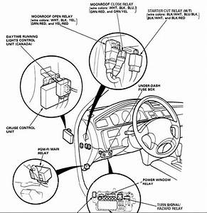1993 Honda Civic Fuel Pump Relay Location  Honda  Wiring