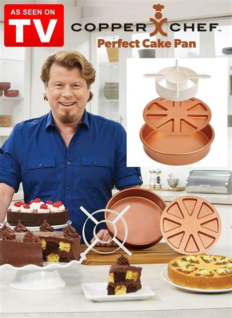copper chef perfect cake pan drleonardscom