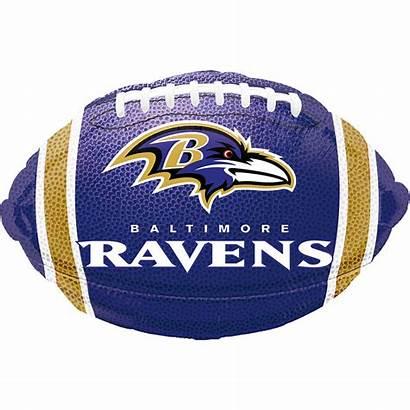 Ravens Baltimore Football Balloon Balloons Party Nfl
