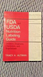 Fda And Usda Nutrition Labeling Guide Decision Diagrams