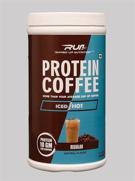 As discussed earlier, espressos and coffee are quite different when it comes to many things, including process and flavor. Neulife Store.Ripped Up Nutrition Protein Coffee Regular 500g