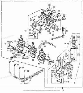 Honda Motorcycle Models With No Year Oem Parts Diagram For Carburetor