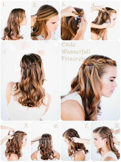 dirndl frisuren lange haare einfach