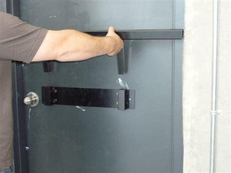 security bar for door door barricade hardware linebacker home door security