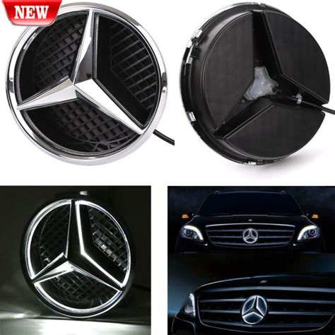 Some logos are clickable and available in large sizes. Illuminated LED Light Front Grille Star Emblem Badge for MERCEDES BENZ 2006-2013   eBay