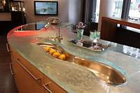 glass counter tops 22 Modern and Stylish Glass Kitchen Countertop Ideas - Amazing DIY, Interior & Home Design