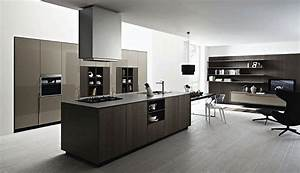 modern black and white italian kitchen designs http With luxurious touch applying a modern kitchen cabinets