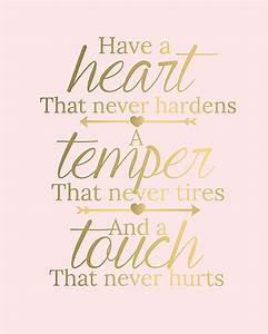 Pink and Gold Typography Inspirational Quote by ...