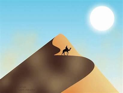 Animation Sand Dune Behance