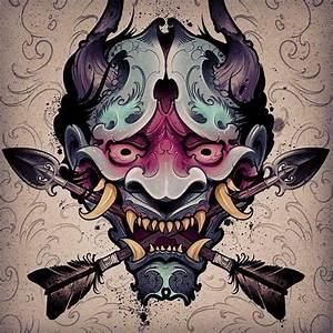 Demon Japonais Dessin : rebel6 tatoo ~ Maxctalentgroup.com Avis de Voitures