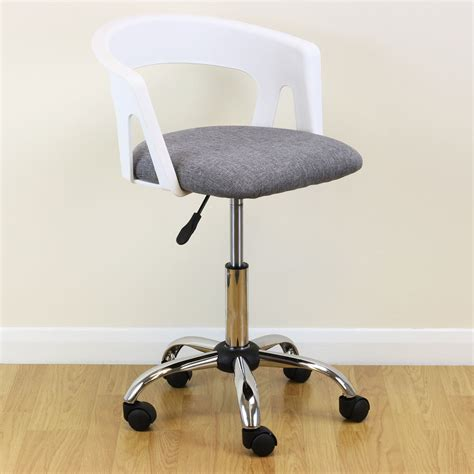 desk stool with back adjustable swivel desk chair executive leather swivel