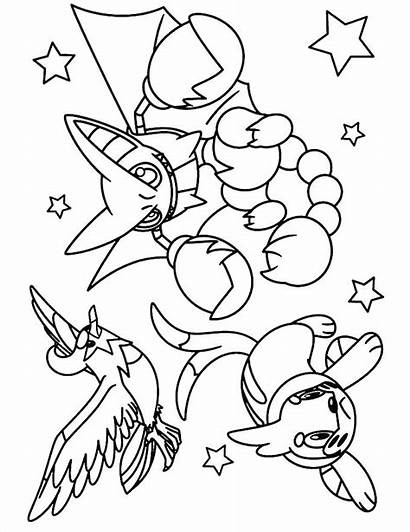 Pokemon Coloring Pages Printable Legendary Type Colouring