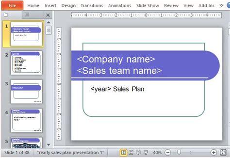 powerpoint sales  templates rakutfuinfo