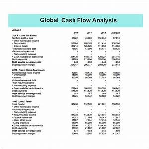 Cash flow analysis template 11 download free documents for Global cash flow analysis template