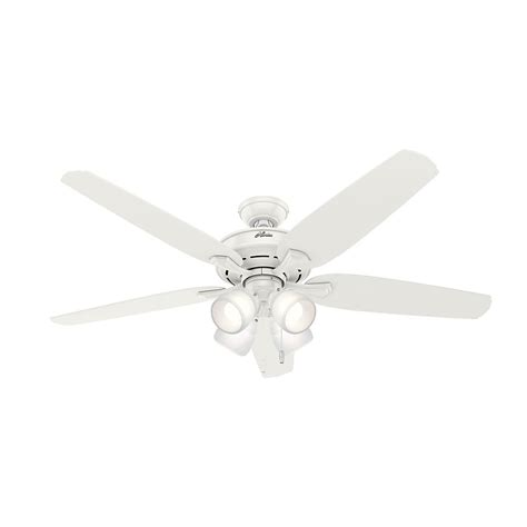 hunter channing ceiling fan hunter channing 60 in led indoor fresh white ceiling fan