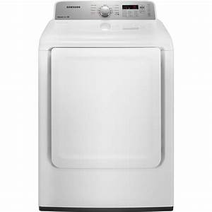 Samsung Electric Dryer 7 2 Cu  Ft  Dv400ewhdwr