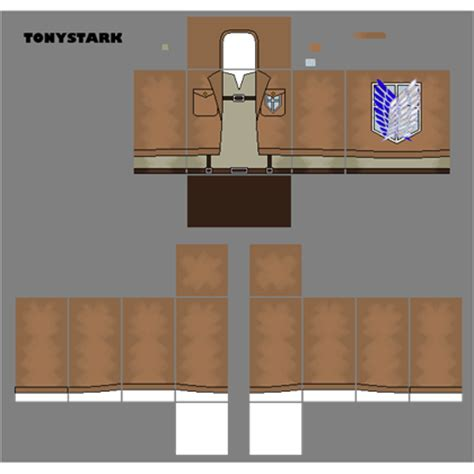 Attack On Titan Roblox Shirt Chilangomadrid Com