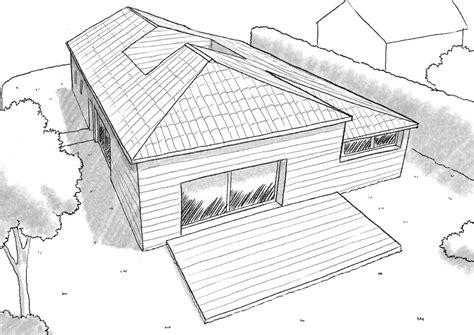 maison avec patio plan maison de plain pied avec patio ooreka