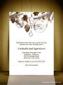 Christmas Party Invitation Card Templates
