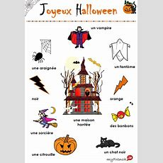 Halloween  French Teaching  Learn French, Halloween Vocabulary, French