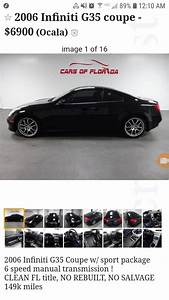 Manual G35 Coupe For Sale  6900