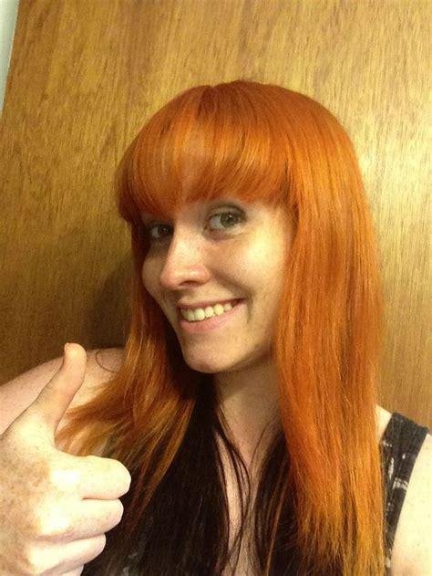 Ion Color Brilliance Orange On Strawberry Blonde Hair I