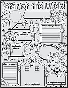 1000 images about star of the week on pinterest all With star of the week poster template