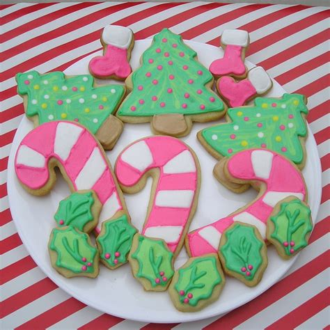 Get festive this christmas with these three cookie dough recipes and dozens of christmas cookie decorating ideas. Decorated Holiday Sugar Cookies Recipe — Dishmaps