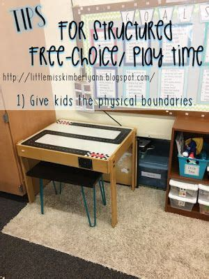 Little Miss Kim's Class: 3 Tips for Structured Free Choice ...