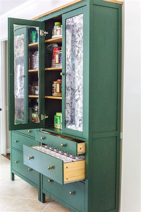 ikea hemnes pantry cabinet organization blesser house