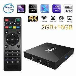 2018 X96 Android 7 1 Tv Box Wifi S905w Top Tv Box Android