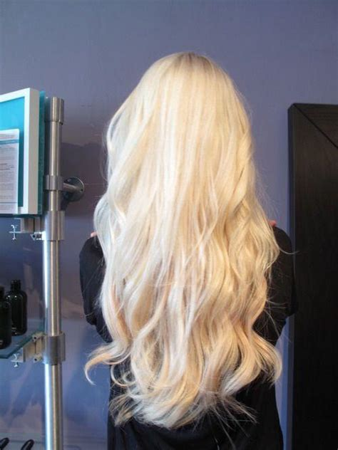 gorgeous bleach blonde hairstyles