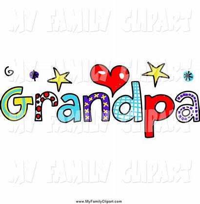 Clipart Grandpa Word Clip Text Clipartpanda Colorful