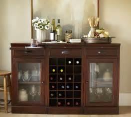modular bar buffet   glass door bases  wine grid