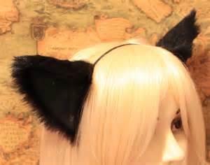 cat ears and black cat movable ears headband kitty cat ears headband