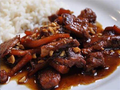 recettede cuisine recette de cuisine vietnamienne porc au caramel