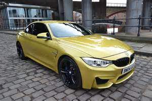 Gold BMW M4 Convertible