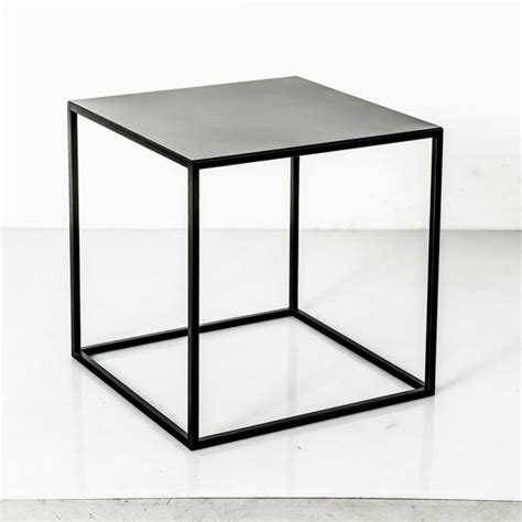 Minimalist Mid Century Modern Steel End Table Remodelista