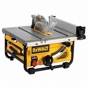 Shop DEWALT 15-Amp 10-in Table Saw at Lowes com