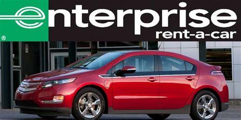 Enterprise Starts Offering Chevrolet Volt Rentals