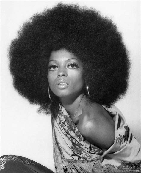Black 70s Hairstyles by 1970 Diana Ross Years 70 S Vintage Afro Fashion Show