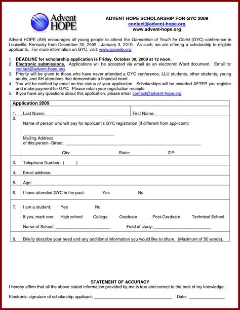Tournament Application Form Template by Application For Sponsorship Template Mughals