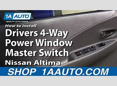 How To Install Replace Drivers 4Way Power Window Master