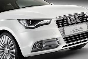 Audi A1 E-tron Front Bumper Close Up