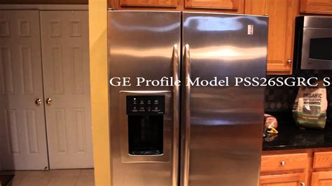 ge profile refrigerator model psssgrc ss loud noise  youtube