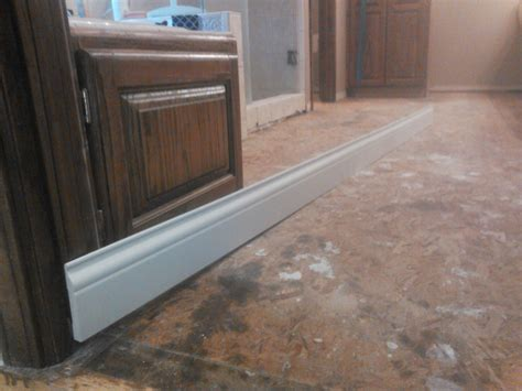 ideas on installing 8 quot x 48 quot tile on plywood subfloor