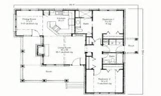 Simple 2 Bedroom House Floor Plans