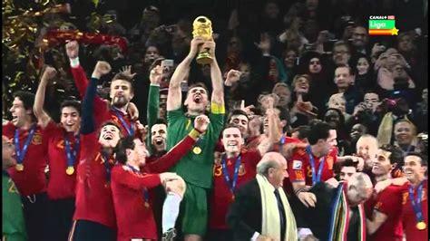 Mundial 2010 Final España Holanda - YouTube