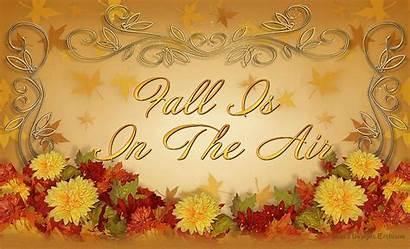 Air Fall Autumn Feel Llerrah Wind