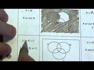 Venn Diagrams With 3 Sets - Lesson